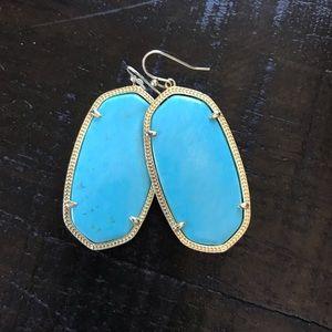 Kendra Scott Danielle Earrings in Turquoise